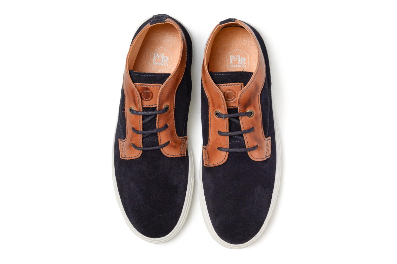 Baskets Mr SARENZA Southend Bleu vue portées chaussures