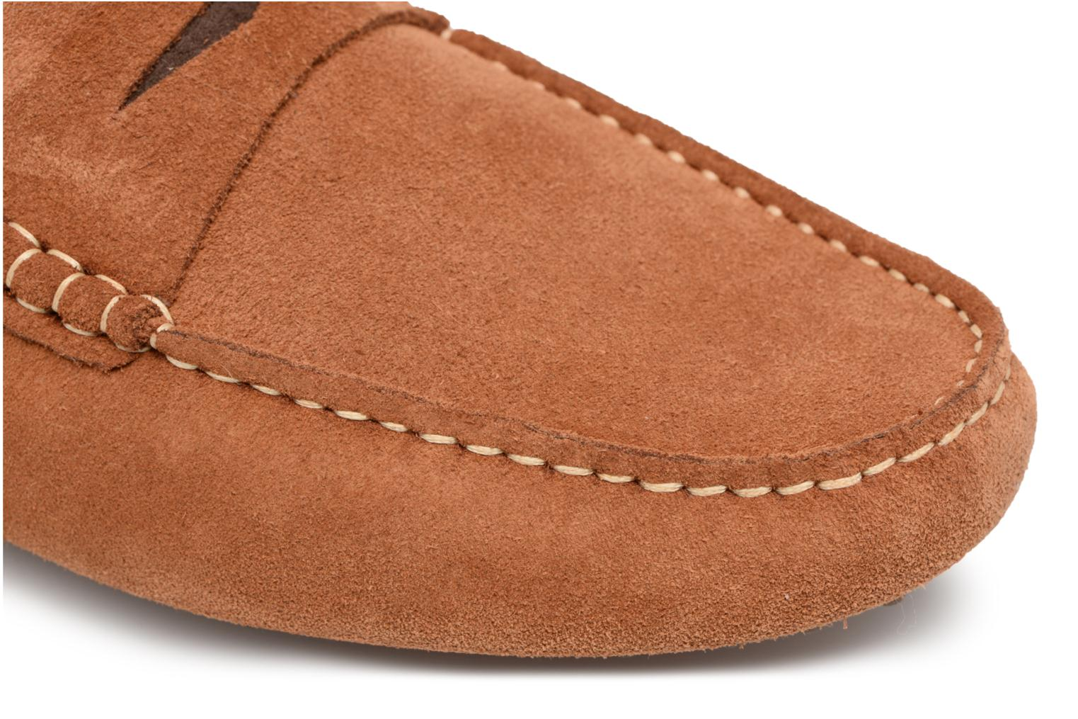 Loafers Mr SARENZA Suttin Brown view from the left