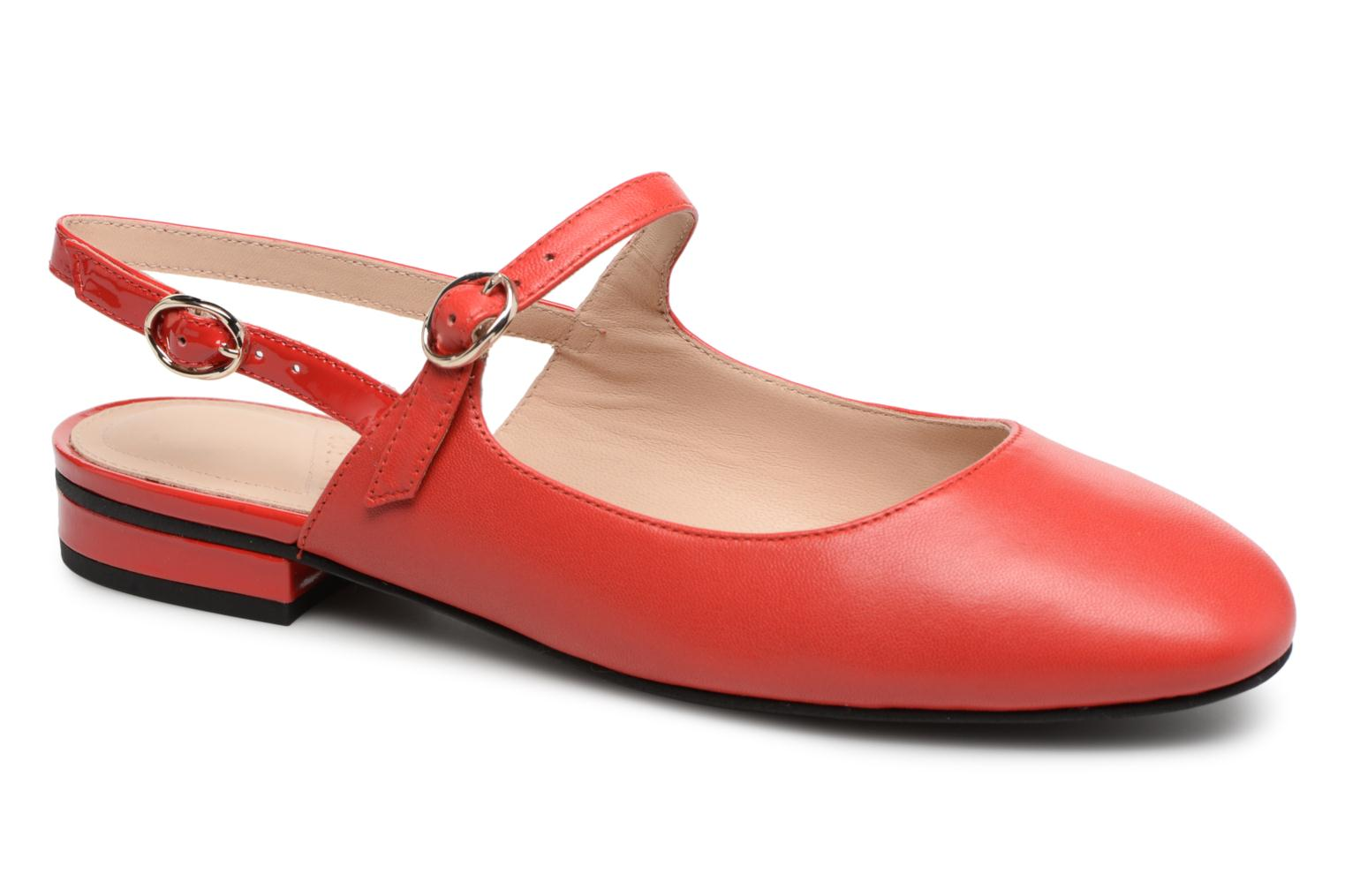 What For Berenice (Rouge) - Ballerines chez Sarenza (321068)