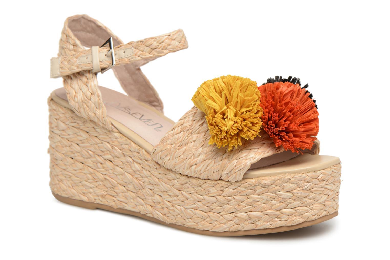 Zapatos promocionales Sixty Seven Pompom (Beige) - Sandalias   Gran descuento