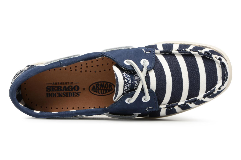 Grandes descuentos últimos zapatos Sebago Docksides Sebago X Armorlux (Azul) - Zapatos con cordones Descuento