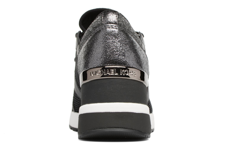 Sneakers Michael Michael Kors Scout trainer 43F6SCFS3D Nero immagine destra