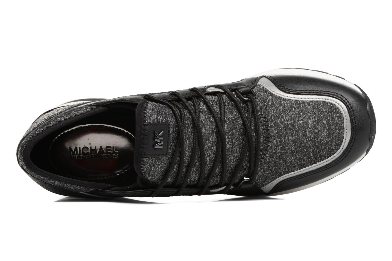 Sneakers Michael Michael Kors Scout trainer 43F6SCFS3D Nero immagine sinistra