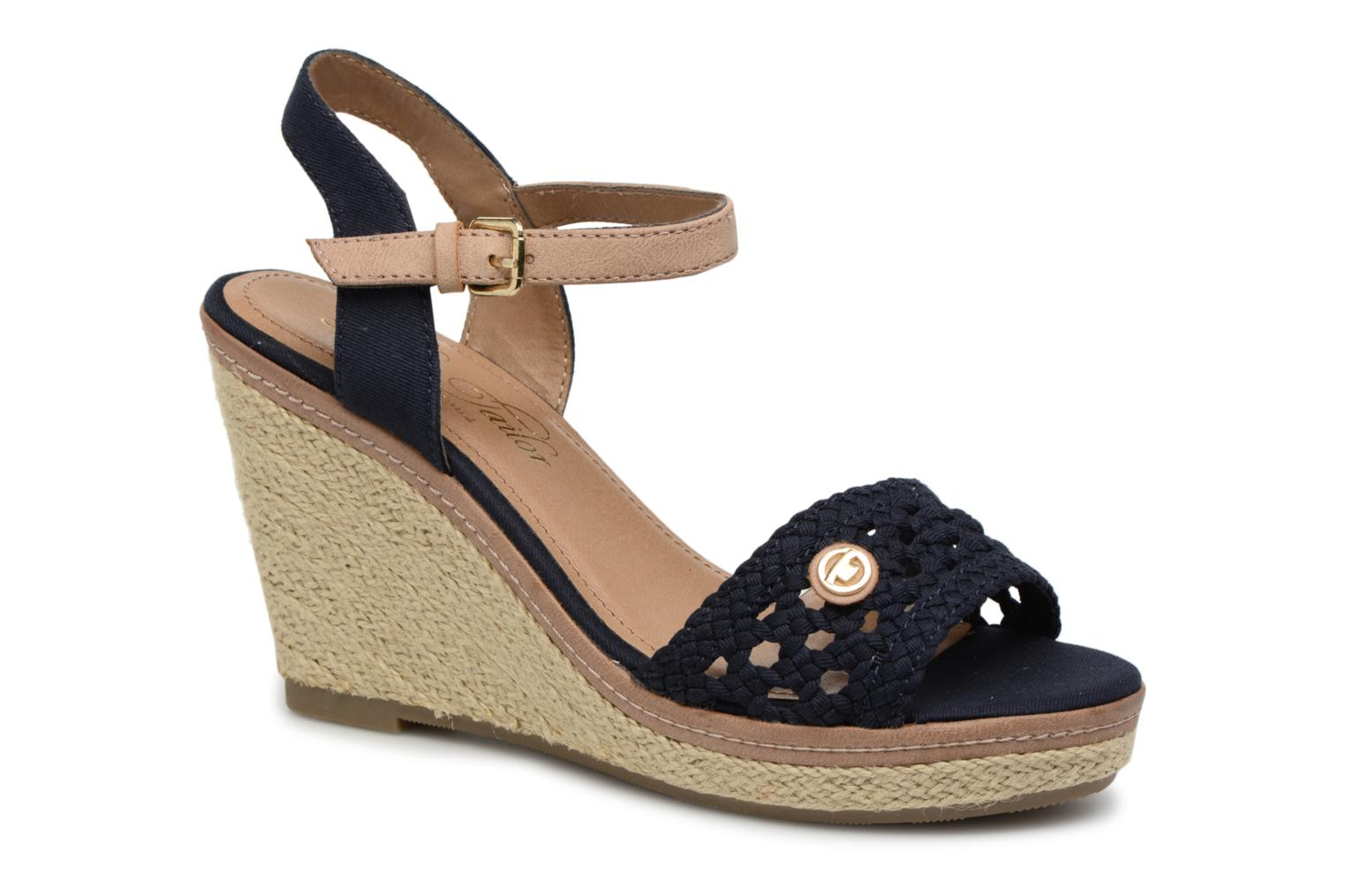 Marques Chaussure femme Tom Tailor femme Aly Navy