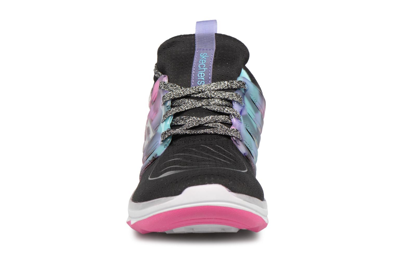 Sportschuhe Skechers Diamond Runner schwarz schuhe getragen
