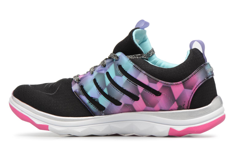 Chaussures de sport Skechers Diamond Runner Noir vue face