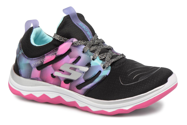 Chaussures de sport Skechers Diamond Runner Noir vue détail/paire