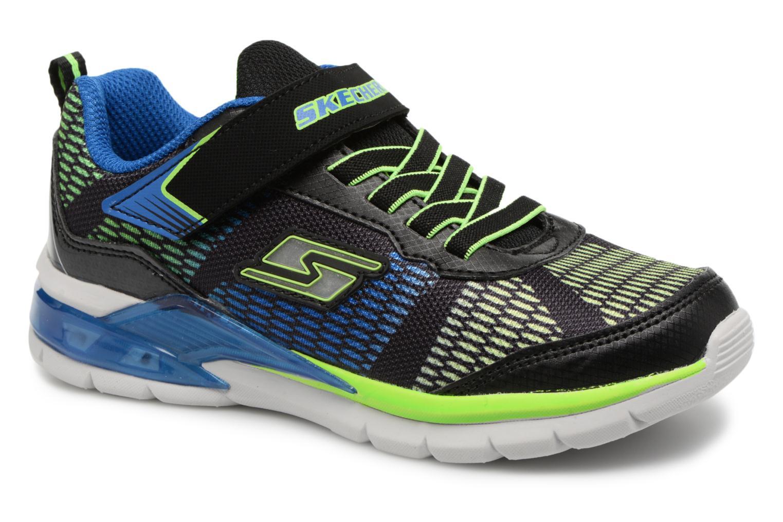 Sneakers Skechers Erupters II Lava Waves Sort detaljeret billede af skoene