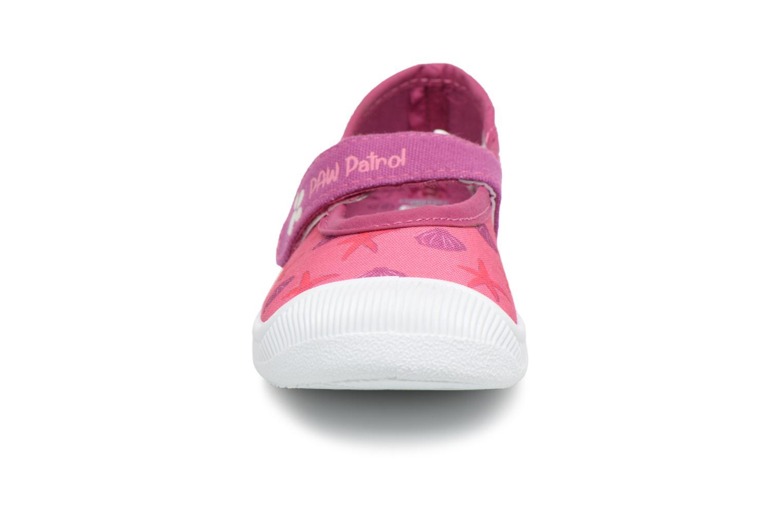 Ballerines Pat Patrouille Slow Rose vue portées chaussures