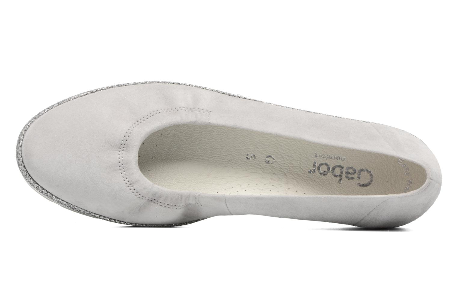 Ballet pumps Gabor Ronie Grey view from the left
