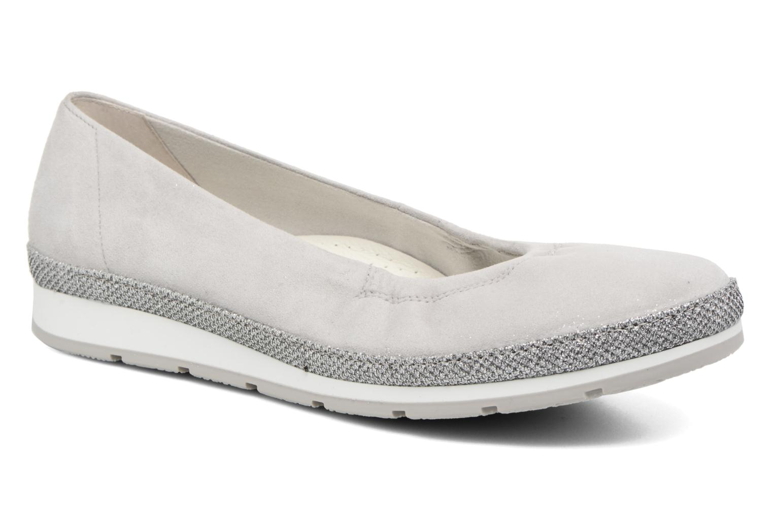 Ballet pumps Gabor Ronie Grey detailed view/ Pair view
