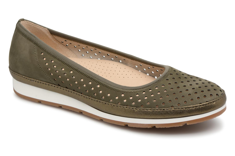 Grandes descuentos últimos zapatos Gabor Jadie (Verde) - Bailarinas Descuento