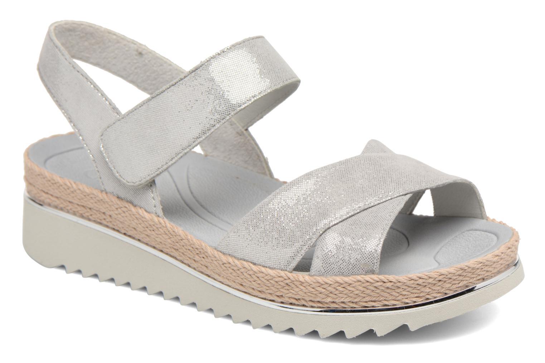 Gabor Areli (Argent) - Sandales et nu-pieds chez Sarenza (321958)