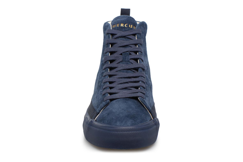 Baskets Champion Mid Cut Shoe MERCURY MID SUEDE Bleu vue portées chaussures