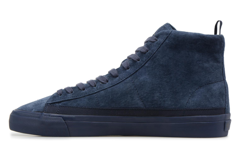 Sneakers Champion Mid Cut Shoe MERCURY MID SUEDE Blauw voorkant
