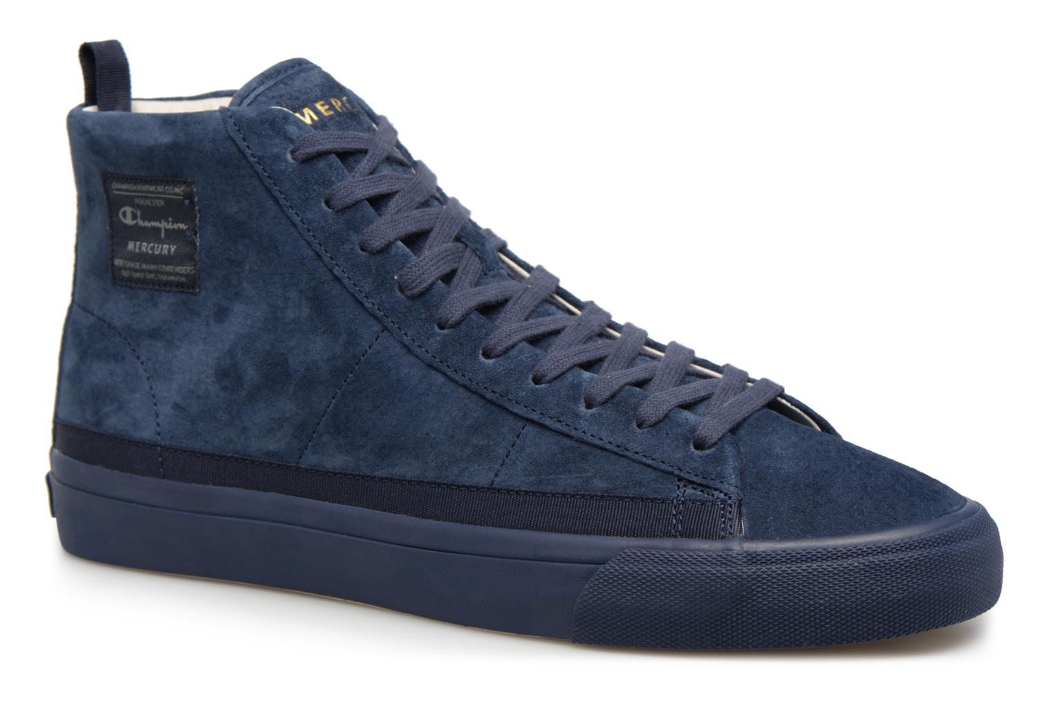 Sneakers Champion Mid Cut Shoe MERCURY MID SUEDE Blauw detail
