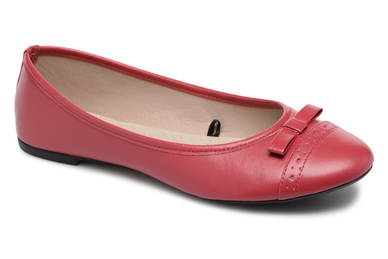 Isotoner Ballerine ajourée (Rouge) - Ballerines chez Sarenza (322135)