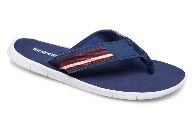 Isotoner Tong sport confort (Bleu) - Tongs chez Sarenza (322147)
