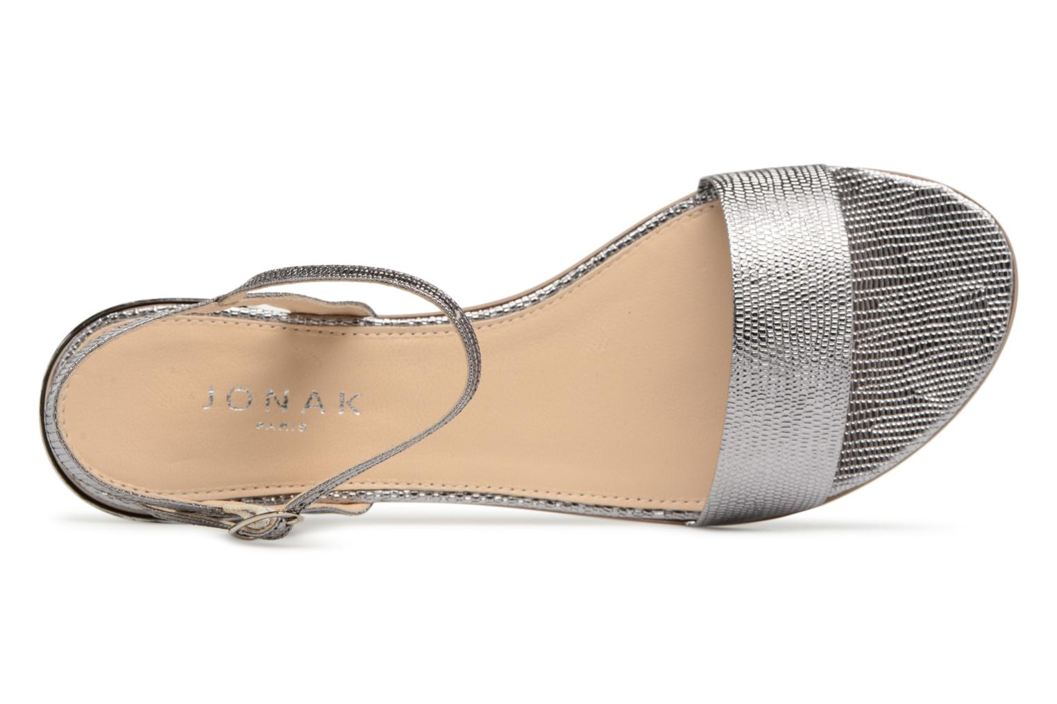 Sandals Jonak VIO Silver view from the left