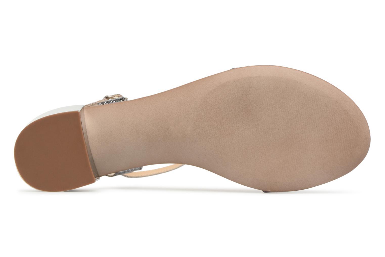 Sandales et nu-pieds Jonak VIO Argent vue haut