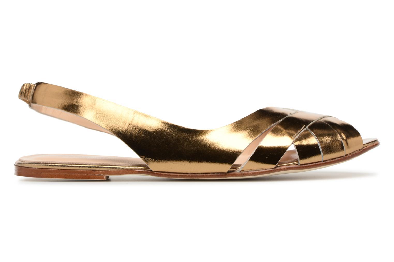 Sandales et nu-pieds Jonak DOUSSOU Or et bronze vue derrière
