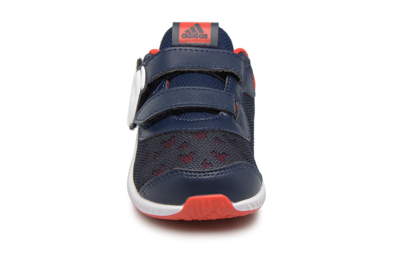 Baskets Adidas Performance DY Mickey Fortarun CF I Bleu vue portées chaussures