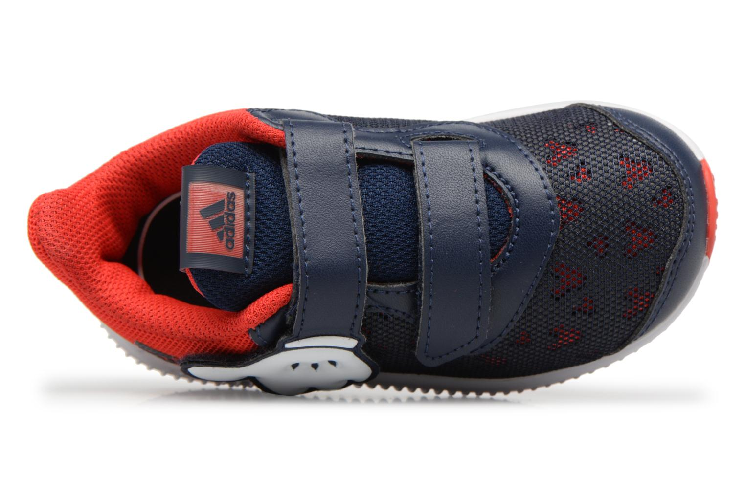 Sneakers Adidas Performance DY Mickey Fortarun CF I Blauw links