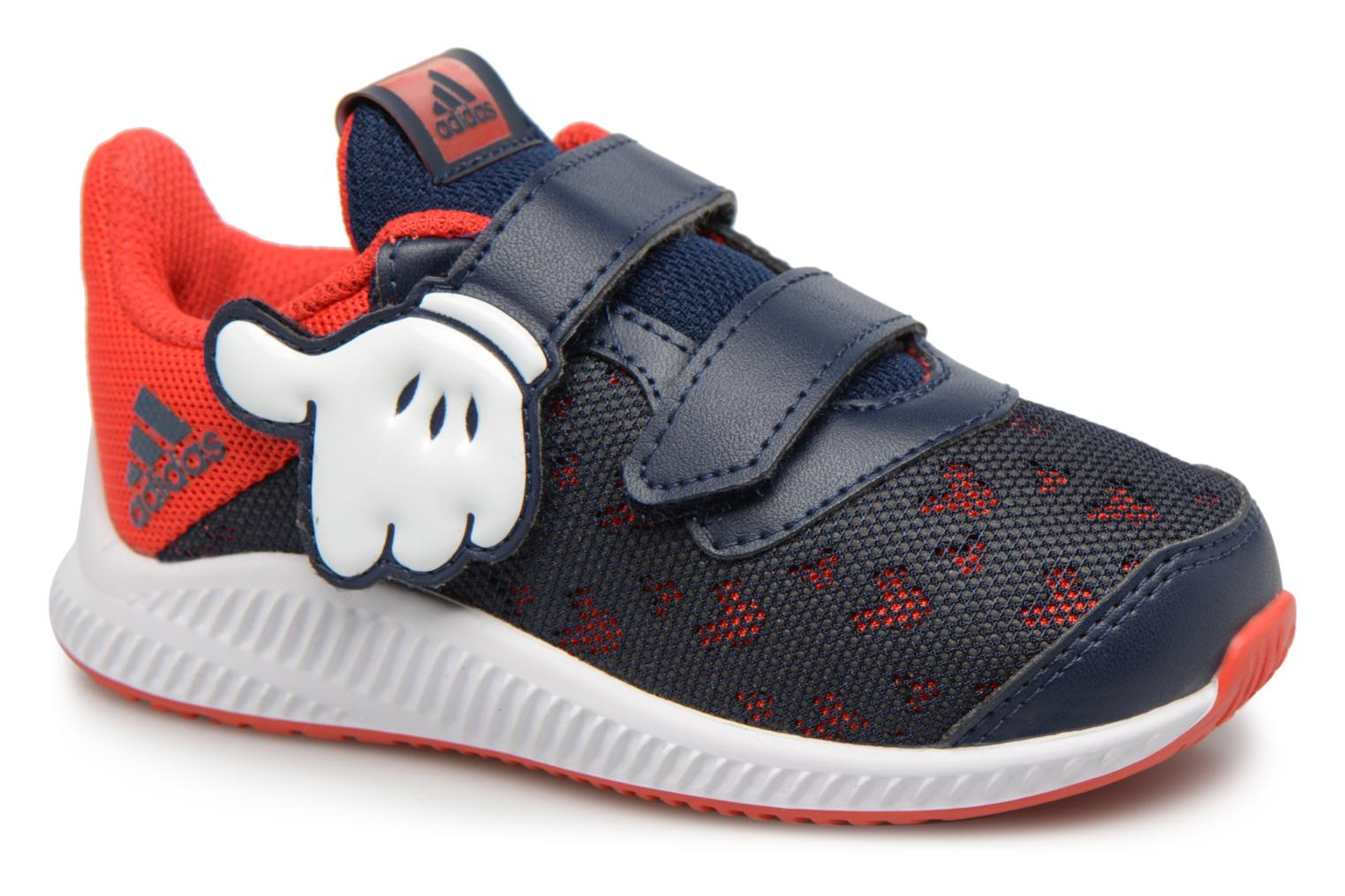 Baskets Adidas Performance DY Mickey Fortarun CF I Bleu vue détail/paire