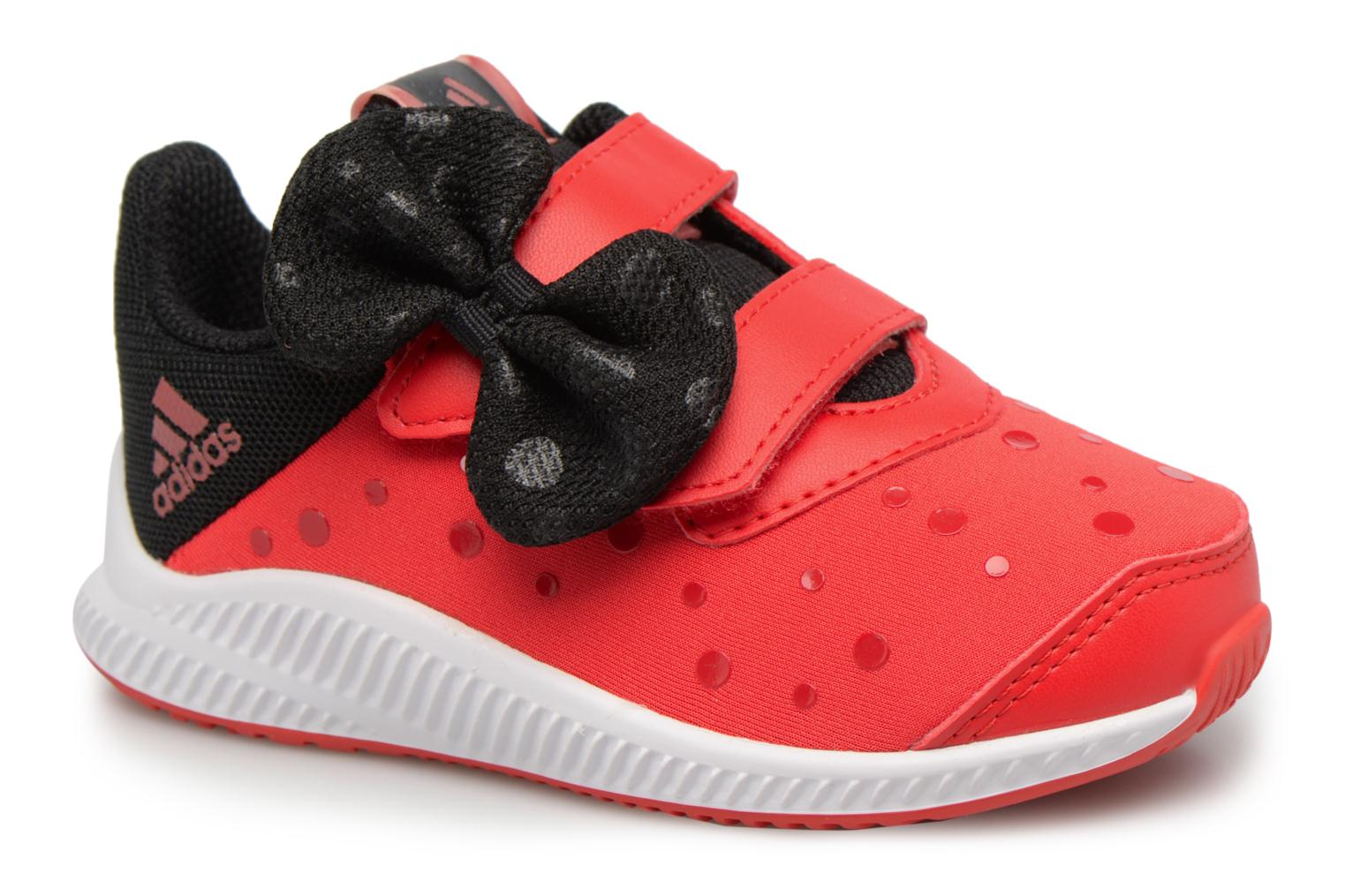 Baskets Adidas Performance DY Minnie Fortarun CF I Rouge vue détail/paire