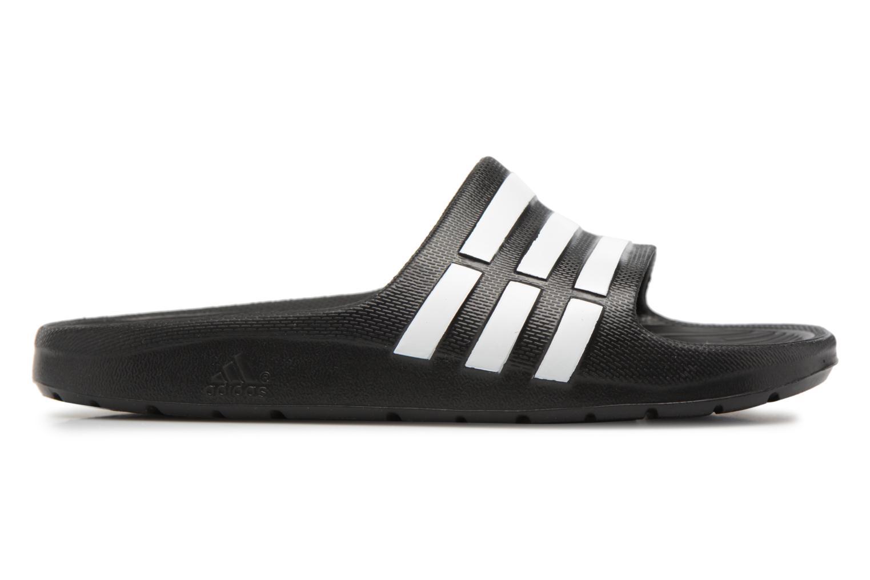Sandali e scarpe aperte Adidas Performance Duramo Slide K Nero immagine posteriore