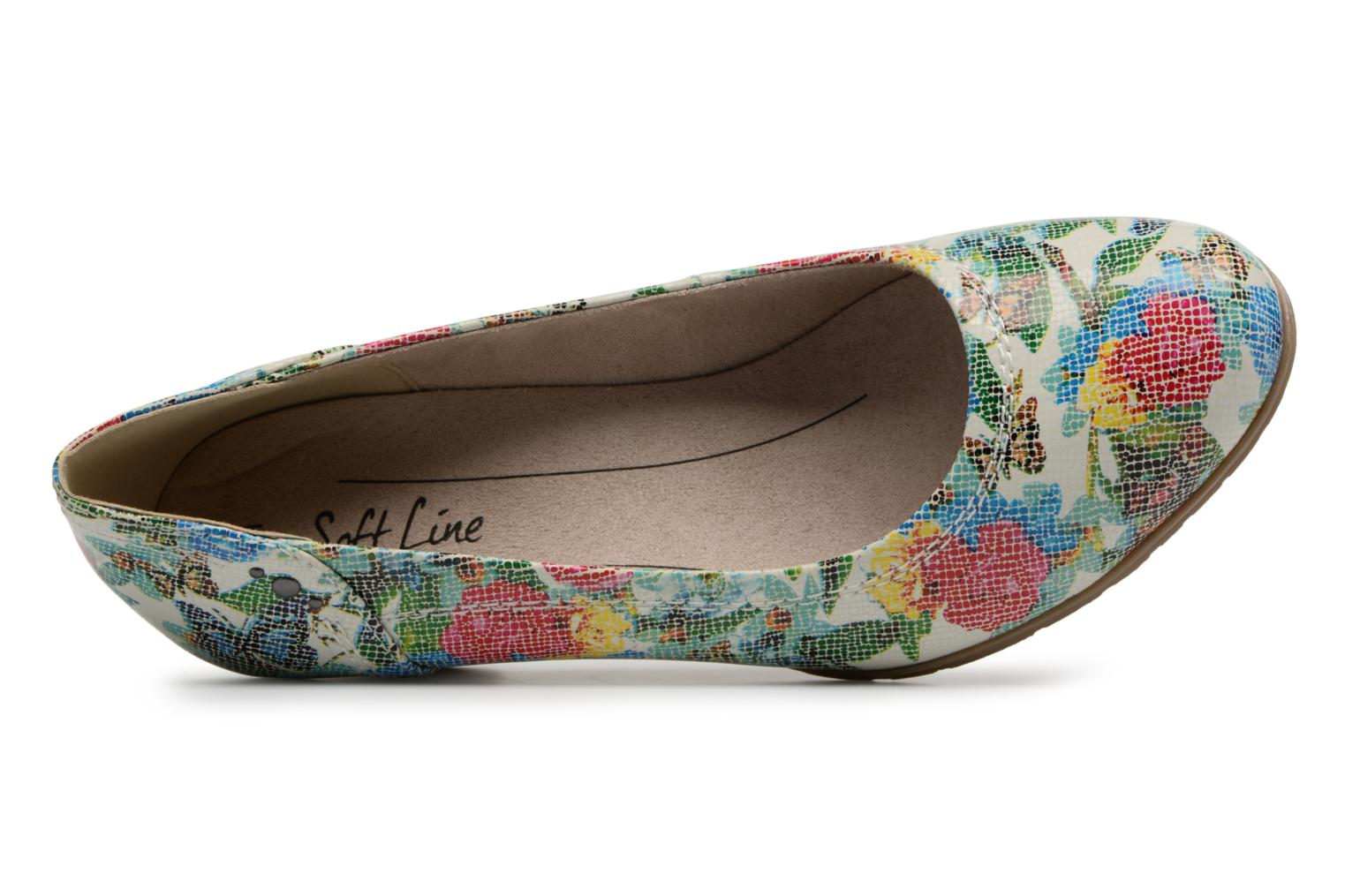 High heels Jana shoes Elba Multicolor view from the left