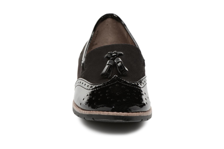 Mocassins Jana shoes Flor Noir vue portées chaussures