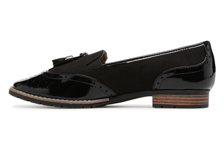 Mocassins Jana shoes Flor Noir vue face
