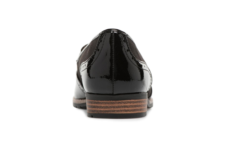 Mocassins Jana shoes Flor Noir vue droite
