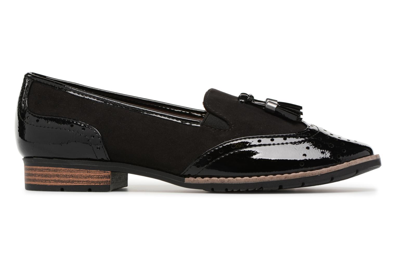 Mocassins Jana shoes Flor Noir vue derrière