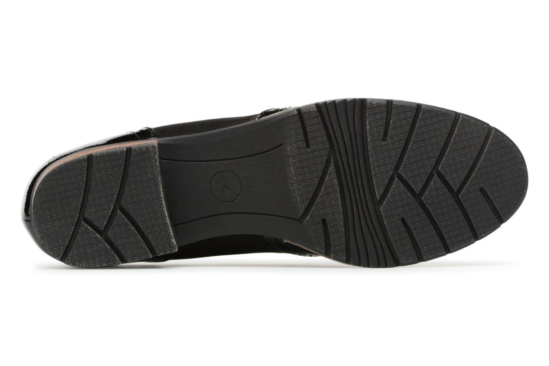 Mocassins Jana shoes Flor Noir vue haut