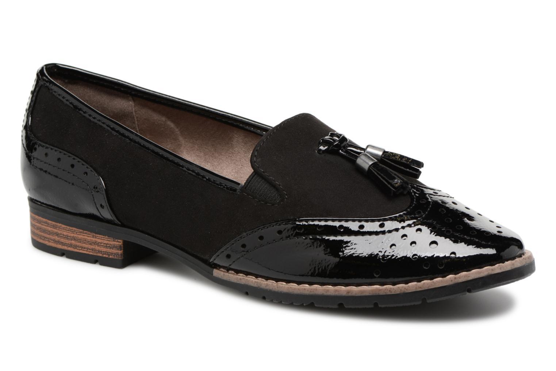 Mocassins Jana shoes Flor Noir vue détail/paire