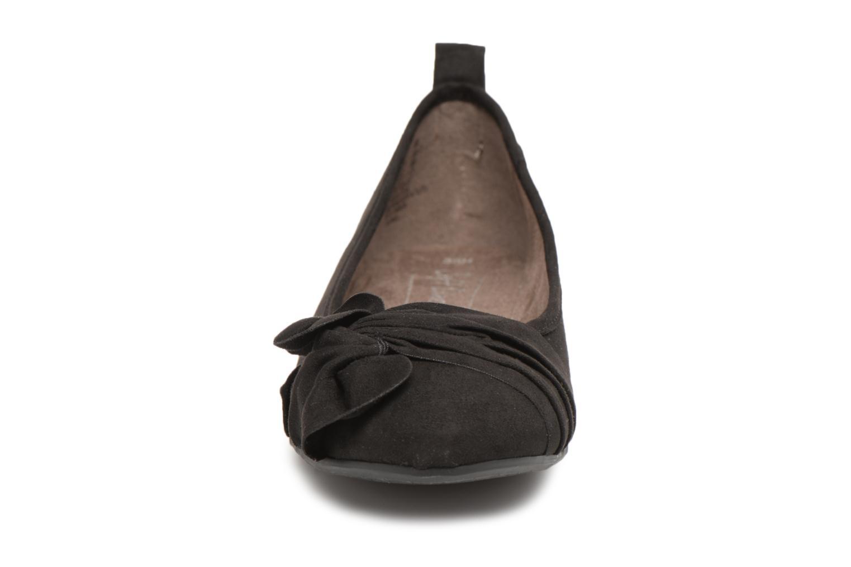 Ballerines Jana shoes Adalia Noir vue portées chaussures