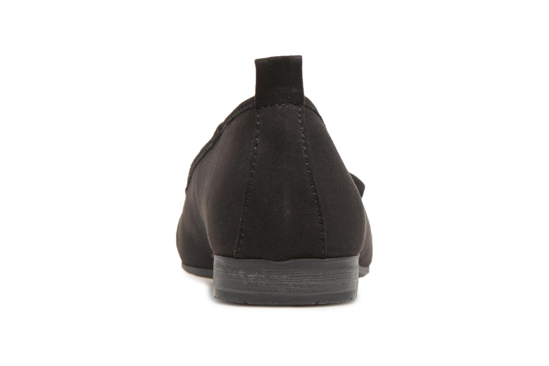 Ballerines Jana shoes Adalia Noir vue derrière
