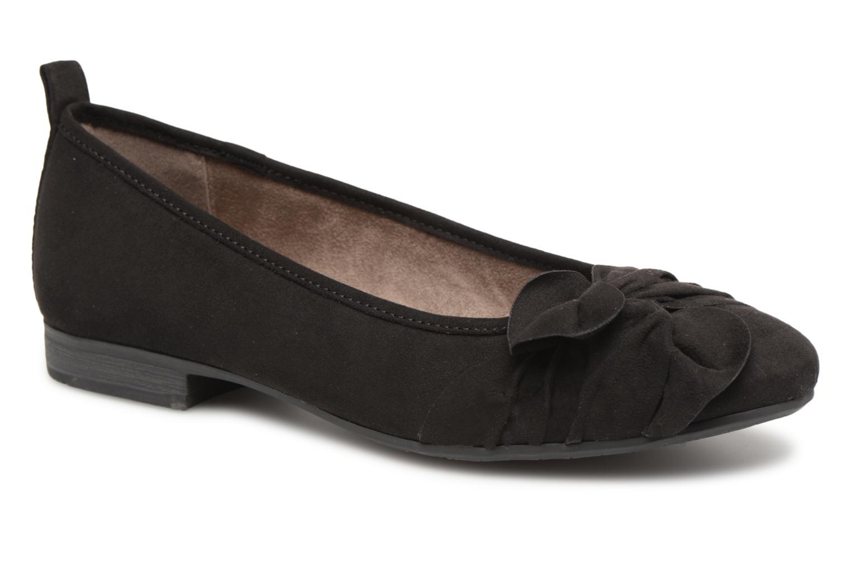 Ballerines Jana shoes Adalia Noir vue détail/paire