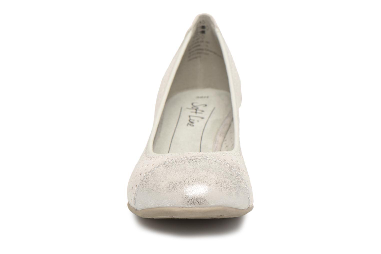 Ballerines Jana shoes Dania Argent vue portées chaussures