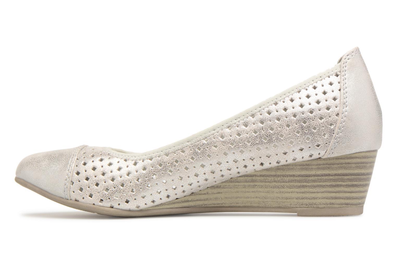 Ballerines Jana shoes Dania Argent vue face