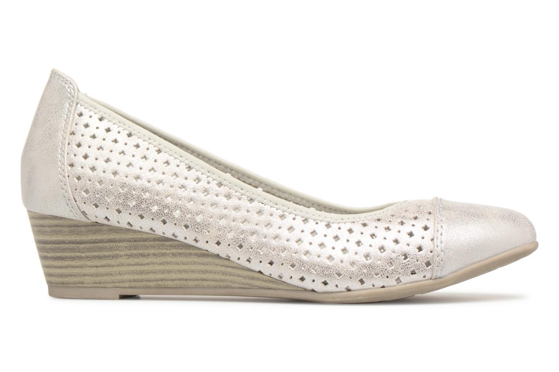 Ballerines Jana shoes Dania Argent vue derrière