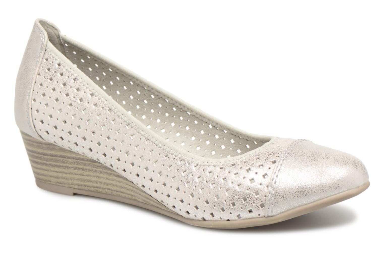 Ballerines Jana shoes Dania Argent vue détail/paire
