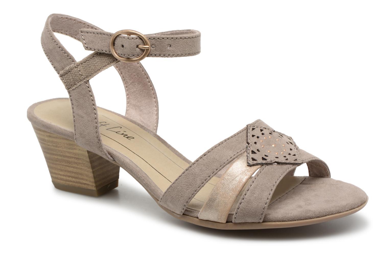 Cristi - Sandales Pour Femmes / Chaussures Beige Jana 8eTa6QLQ