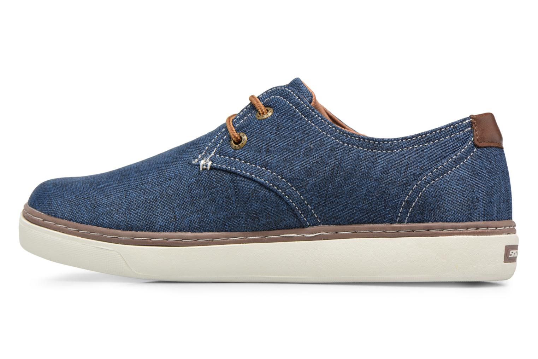 Sneakers Skechers Palen-Gadon Blå se forfra