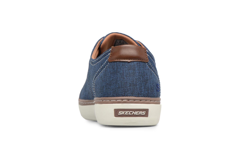 Sneakers Skechers Palen-Gadon Blå Se fra højre