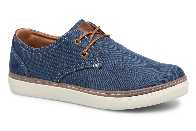 Sneakers Skechers Palen-Gadon Blå detaljeret billede af skoene