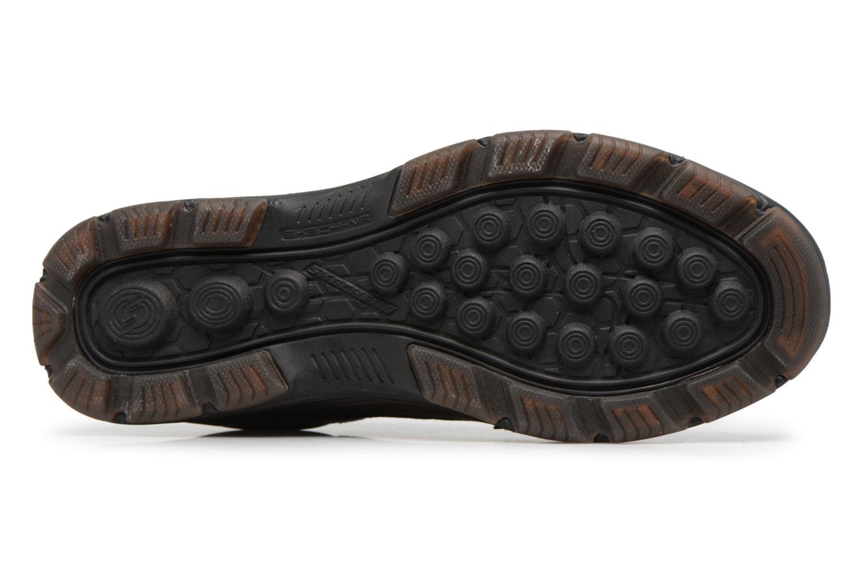 Baskets Skechers Garton-Briar Marron vue haut