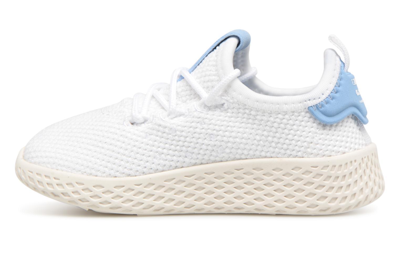 Baskets Adidas Originals Pharrell Williams Tennis Hu I Blanc vue face
